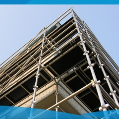 High Strength Aluminum Kwikstage Scaffolding