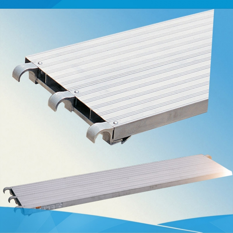 Anti-slip All Aluminum Scaffolding Plank