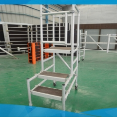 Quickly Erect Aluminum Podium Steps Scaffolding