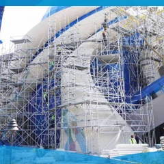 Multidirectional Rosette Aluminum Ringlock Scaffolding