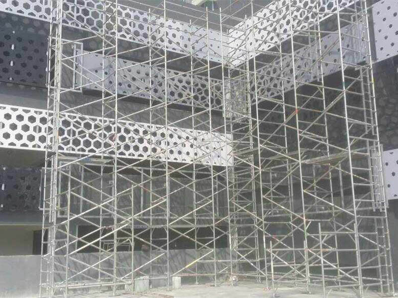 Updated Aluminum Ringlock Scaffolding Projects